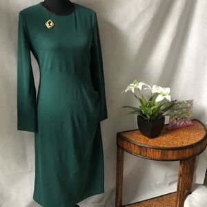 Anne Klein Long Sleeve Sheath